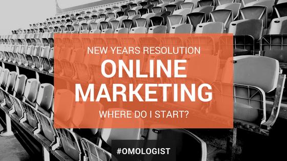 Online Marketing New Year Resolution - Part 1 website optimisation