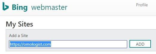 How to setup Bing Webmaster Tools