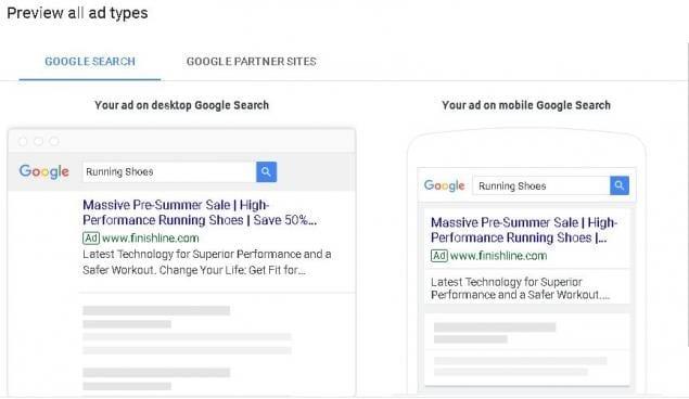 google result desktop vs mobile