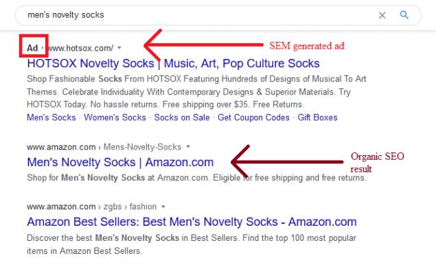 search engine marketing vs seo