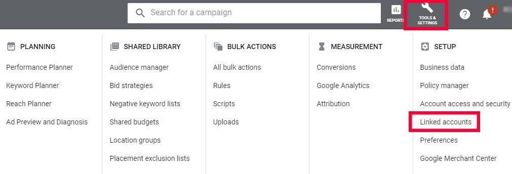 goals in google ads